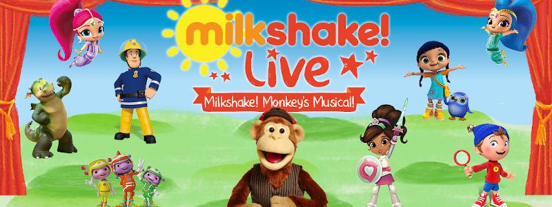 Milkshake Monkey and firends